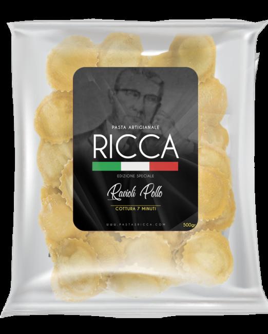 Pasta Artesanal Ravioli pollo